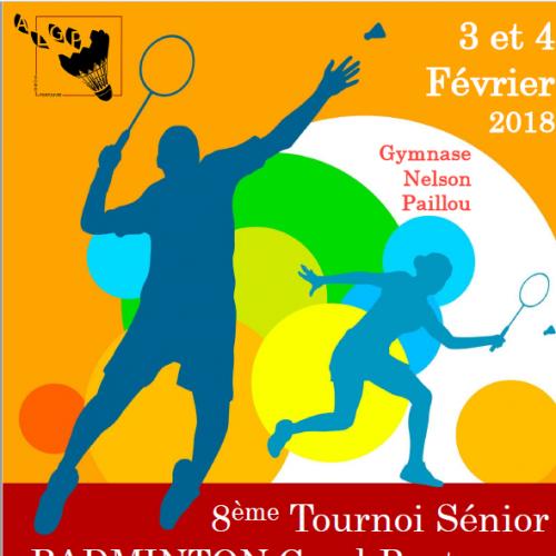 Tournoi du Gond Pontouvre 3 et 4/02/2018