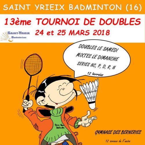 Tournoi du SYB 24 et 25/0/2018