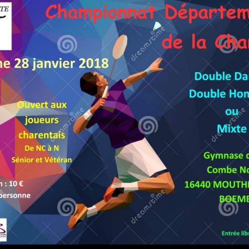 Championnat Départemental Adultes 2018