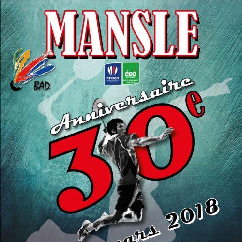 Tournoi de Mansle 17 et 18/03/18